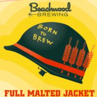 beachwood full malted jacket label