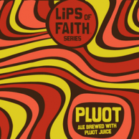 new belgium pluot ale label
