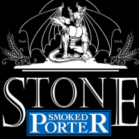 Stone Smoked Porter label