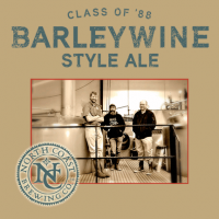 North Coast Class of 88 Barleywine label