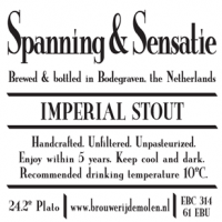De Molen Spanning and Sensatie Imperial Stout