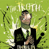 Flying Dog The Truth Imperial IPA label