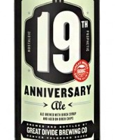 Great Divide 19th Anniversary Ale label