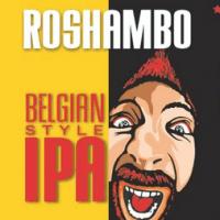 Karbach Roshambo Belgian IPA label