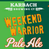 Karbach Weekend Warrior Pale Ale label