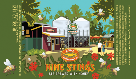 Kona Nine Stings Honey Ale