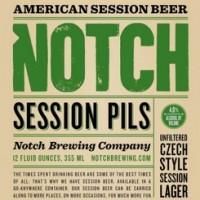 Notch Session Pils label