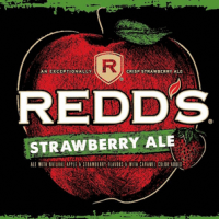 Redd's Strawberry Ale label