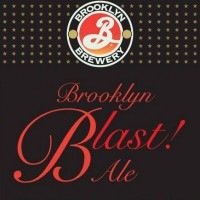 brooklyn blast ale label