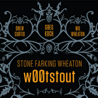 w00tstout beer label stone wil wheaton