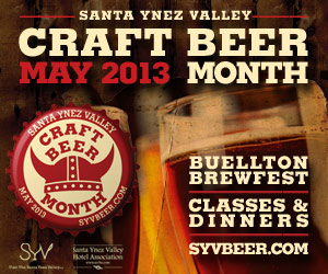 Santa Ynez Valley Craft Beer Month 2013 takes place in May