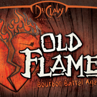 Duclaw Bourbon Barrel Aged Old Flame Ale