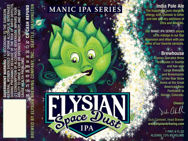 Elysian Space Dust IPA goes year-round