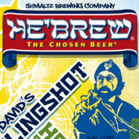 He'Brew David's Slingshot Hoppy Summer Lager label
