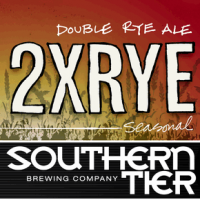 Southern Tier 2XRye Double Rye Ale label