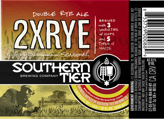 Southern Tier Brewing Update 2x Rye Warlock And Four