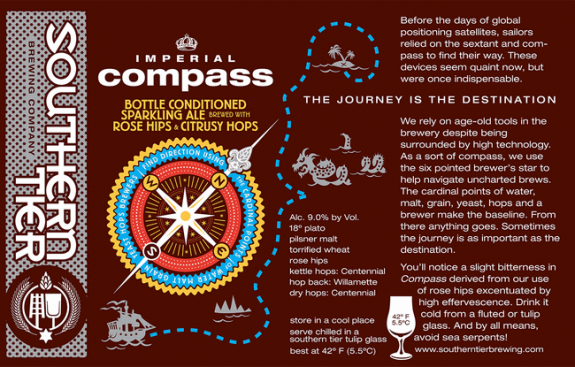Southern Tier Compass Sparkling Ale