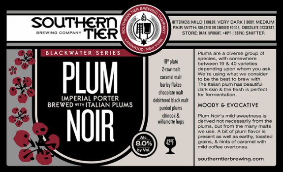 Southern Tier Plum Noir Imperial Porter