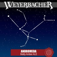weyerbacher andromeda label