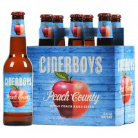 ciderboys peach county cider label