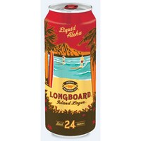 Kona Longboard Island Lager 24-ounce cans land this week | BeerPulse
