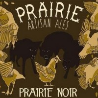 prairie noir barrel aged imperial stout label