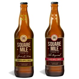 square mile cider co bottles