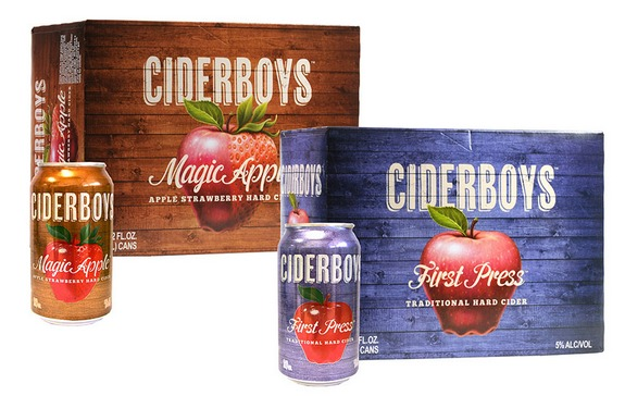 Ciderboys cans logo