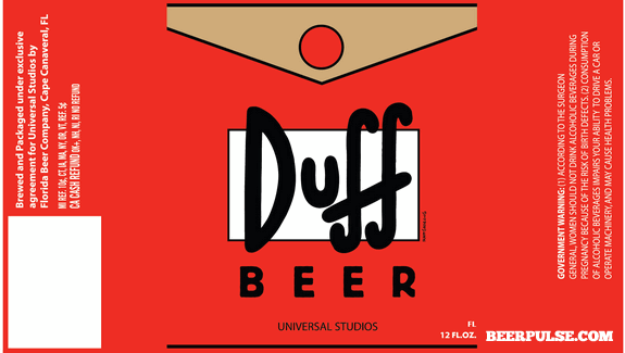 duff beer labels approved florida beer company revealed With duff beer label