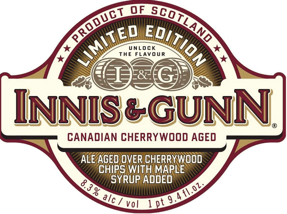 Innis and Gunn Canadian Cherrywood Aged Ale