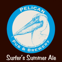 Pelican Surfer's Summer Ale label