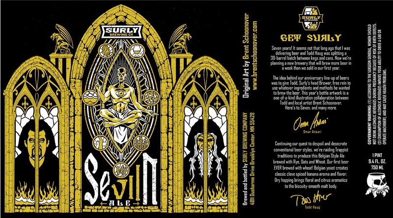 Surly SeVIIn hits stores on Monday, taproom to open this Friday ...