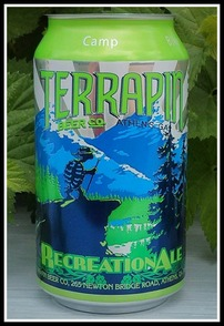Terrapin Recreation Ale can unveiling