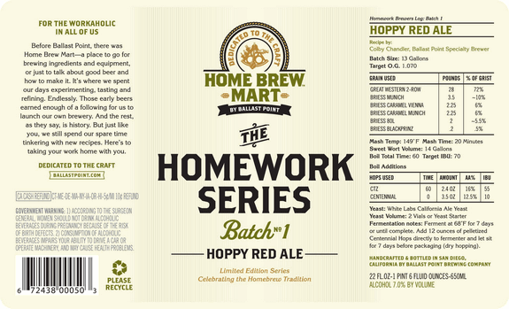 ballast point homework series 1