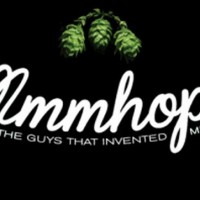 mmmhops bottle and logo