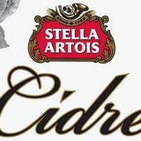 stella artois cidre label