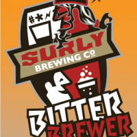 surly bitter brewer label