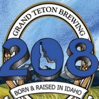 Grand Teton Ale 208 Session Ale