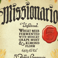5 Rabbit Missionario Wheat Beer