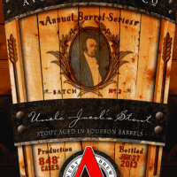 Avery Uncle Jacob's Stout aged in Bourbon Barrels 2013
