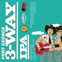 Fort George 3 Way IPA rcan