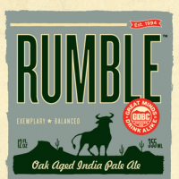 Great Divide Rumble Oak Aged IPA
