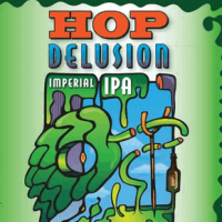 Hop Delusion label