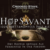 Crooked Stave Hop Savant 100% Brettanomyces Pale Ale