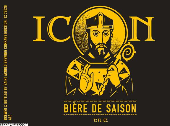 Saint Arnold Icon Biere de Saison Front