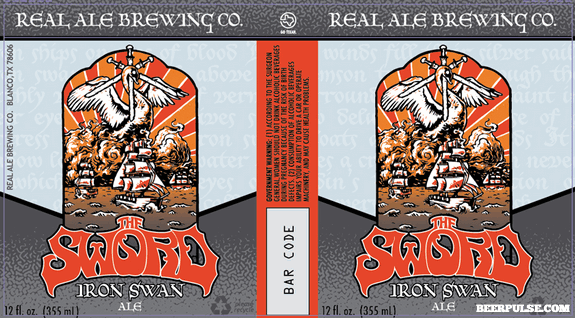 Real Ale The Sword Iron Swan Ale