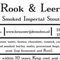 De Molen Rook and Leer Smoked Imperial Stout