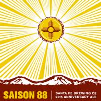 Santa Fe Saison 88 25th Anniversary Ale