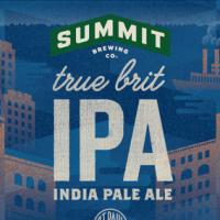 Summit True Brit IPA Body Label