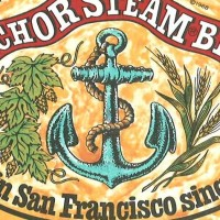 anchor steam beer label